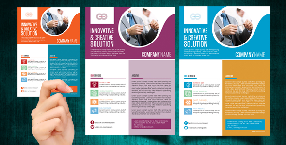 Corporate business marketing web flyer template oodlesthemes corporate business web flyer templates accmission Choice Image