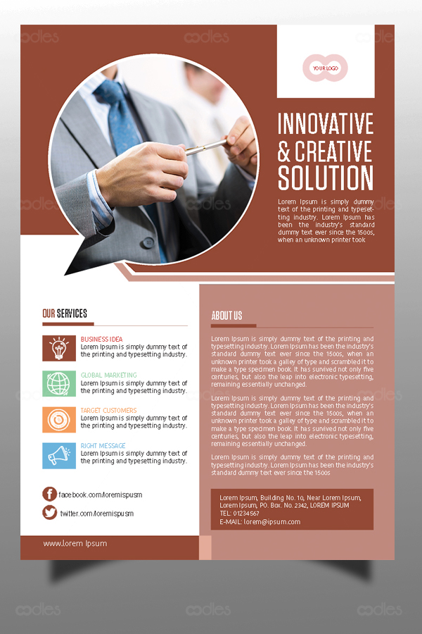 Business flyer templates oodlethemes business flyer templates wajeb Images