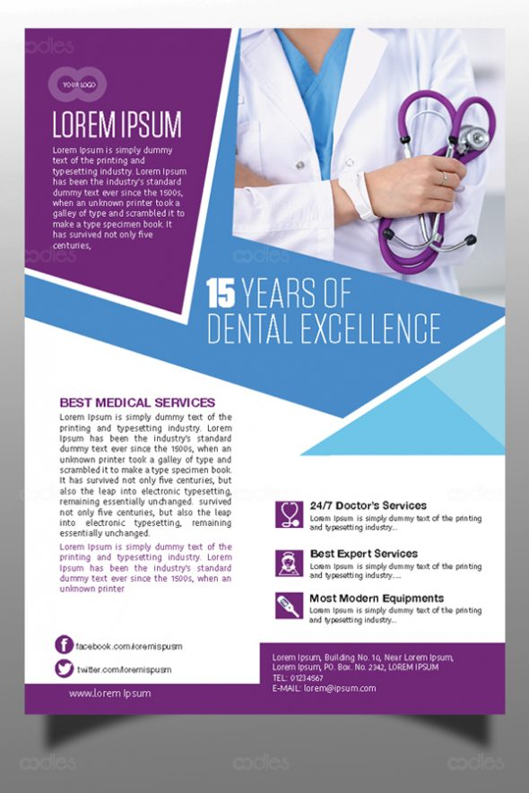 medical and healthcare marketing flyer templates oodlethemes com