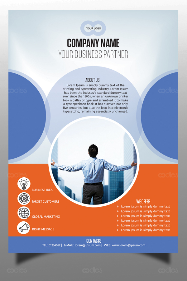 Business And Corporate Flyer Design Templates Oodlethemes Com