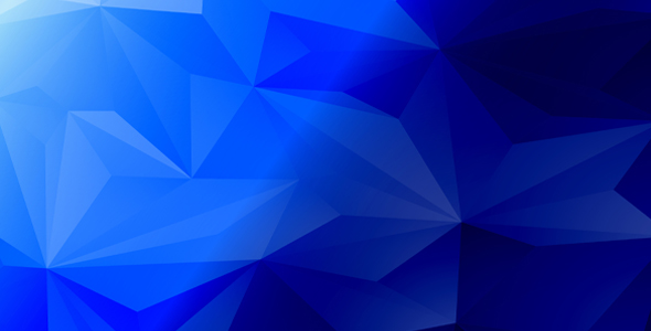 Abstract Vector Blue Background Design