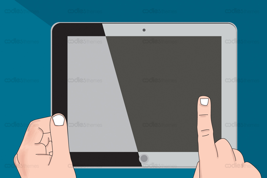 hand holding tablet-1