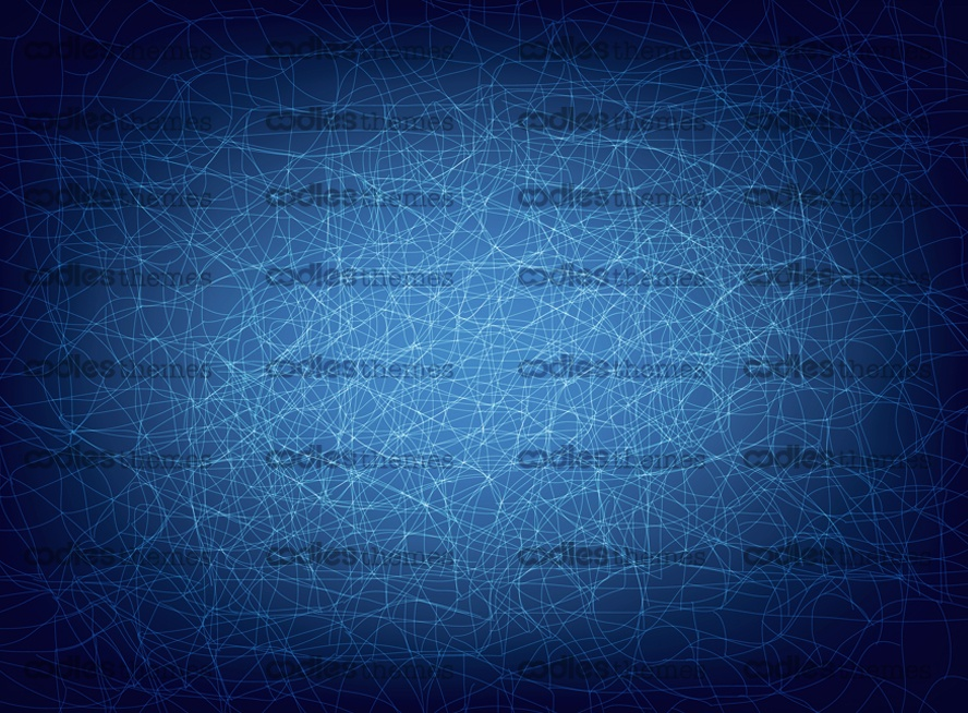 Connected lines-blue-background-vector