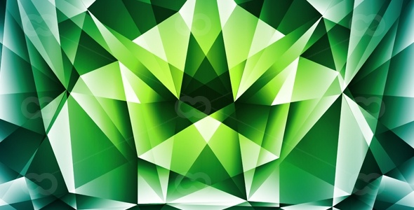 590×300-OO008730122-Green-polygonal-abstract background