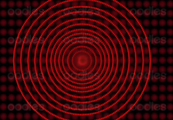 Red spiral background vector