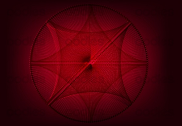 OO0012233563-Abstract red tech background-WM